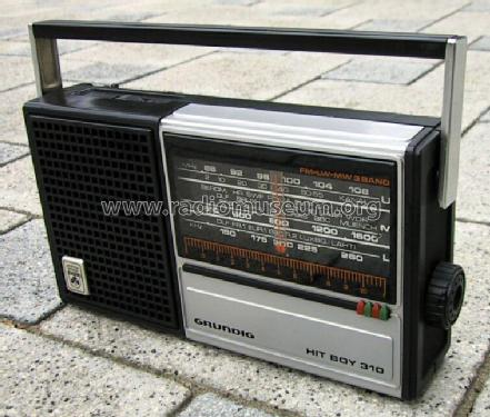 Hit-Boy 310; Grundig Radio- (ID = 83742) Radio