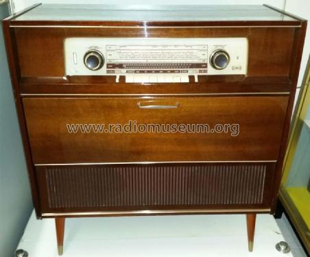 Meuble Stereophonique Locarno F Ebf89 Radio Grundig Radio