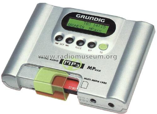 MP3 Player MPAXX M-P 100 R-Player Grundig Radio-Vertrieb, RV