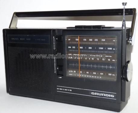 Music-Boy 100; Grundig Radio- (ID = 706268) Radio