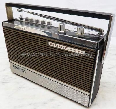Music-Boy 210; Grundig Radio- (ID = 1708915) Radio
