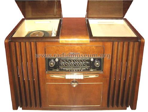 Musikschrank 7041w 3d Wechsler Radio Grundig Radio Vertrieb