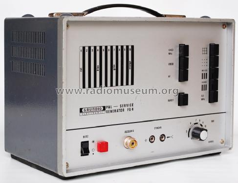 PAL-Servicegenerator FG4; Grundig Radio- (ID = 1638394) Equipment