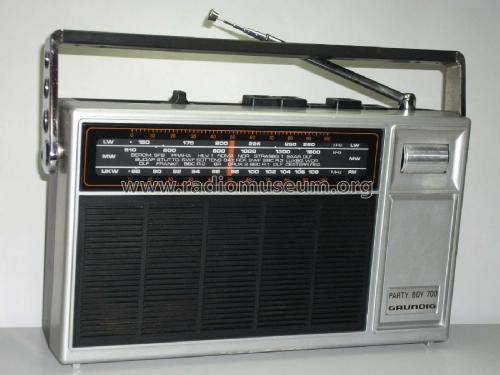 Party-Boy 700; Grundig Radio- (ID = 2308375) Radio