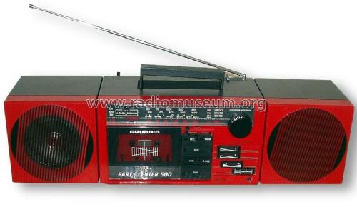 Party Center 500; Grundig Radio- (ID = 1806896) Radio