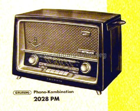 Phono-Kombination 2028PM; Grundig Radio- (ID = 491394) Radio