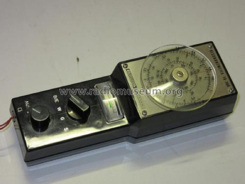 Resonanzmeter TR300; Grundig Radio- (ID = 2389022) Equipment