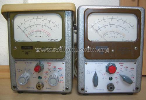 Röhrenvoltmeter RV-11 Equipment Grundig Radio-Vertrieb, RVF