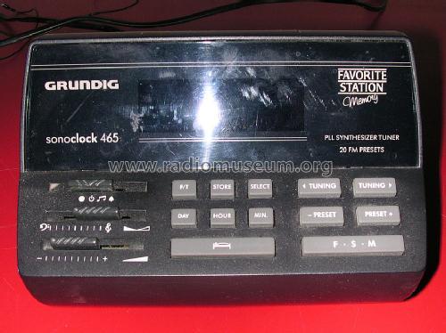 Grundig sonoclock 890 manual