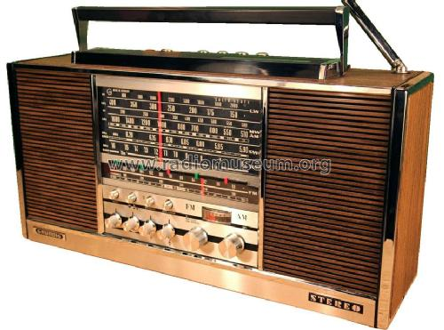 Stereo Concert-Boy Transistor 4000 stereo-solid-state; Grundig Radio- (ID = 1934969) Radio
