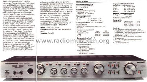 Pré Amplificador de Phono  Sxv6000_500188