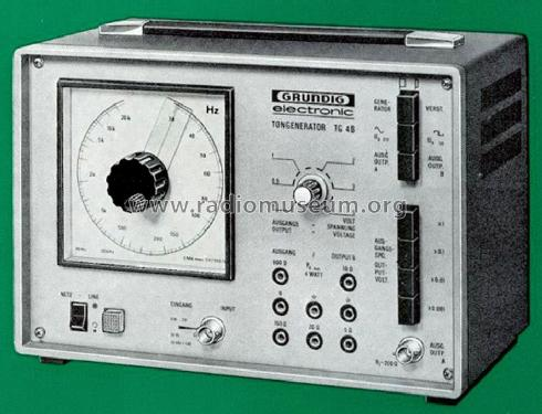 Tongenerator TG4B; Grundig Radio- (ID = 2404297) Equipment