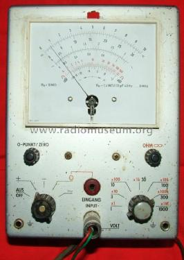 Voltmeter 6060; Grundig Radio- (ID = 542883) Equipment