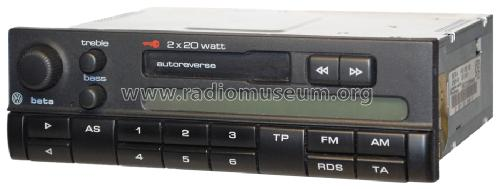 vw beta 4 g hf63 00 g hg67 00 vw 3b0 car radio grundig r. Black Bedroom Furniture Sets. Home Design Ideas