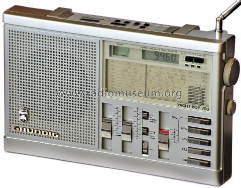 Yacht-Boy 700 Radio Grundig Radio-Vertrieb, RVF, Radiowerke,