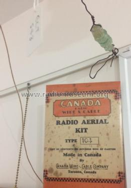 Radio Aerial Kit 104; Canada Wire and (ID = 2352003) Antenna