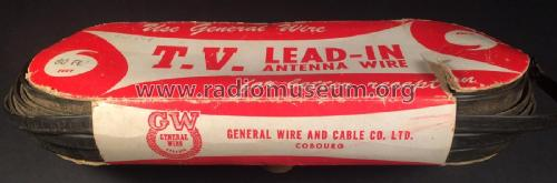 TV Lead-In CL-52-0812; General Wire and (ID = 2352004) Antenna