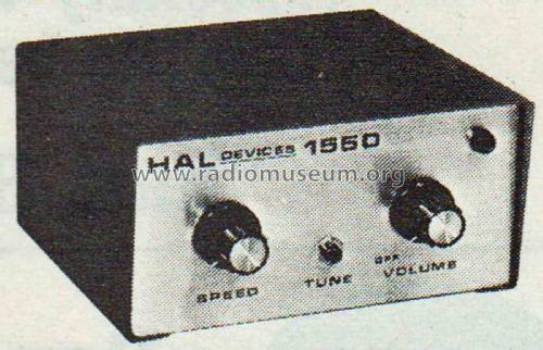 Electronic Keyer 1550; Hal Communications, (ID = 2060658) Amateur-D