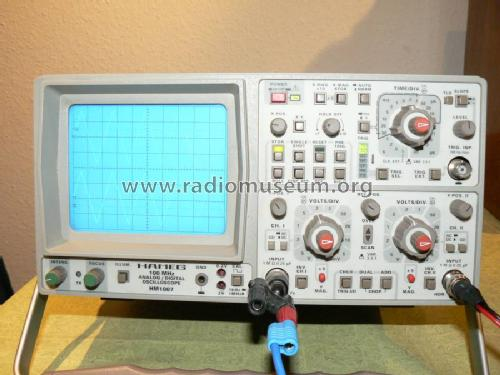Analog- / Digital-Oscilloscope HM1007; HAMEG GmbH, (ID = 459495) Equipment