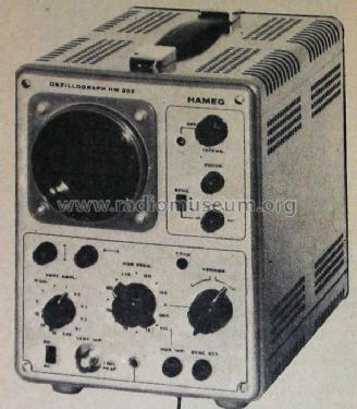 Oscilloscope HM207-2; HAMEG GmbH, (ID = 903543) Equipment