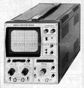 Oscilloscope HM512; HAMEG GmbH, (ID = 452069) Equipment