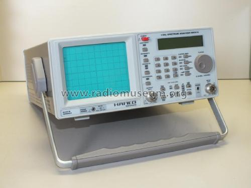 Spektrum Analyzer HM5510; HAMEG GmbH, (ID = 2385656) Equipment