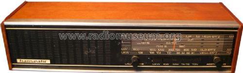 transistor tischradio radio hanseatic marke build 1975. Black Bedroom Furniture Sets. Home Design Ideas