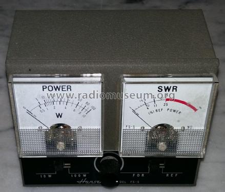 Power and SWR Meter FS-5 Amateur-D Hansen Electric Laborator