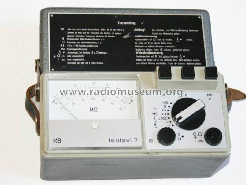 Isolavi 7 ; Hartmann & Braun AG; (ID = 597759) Equipment