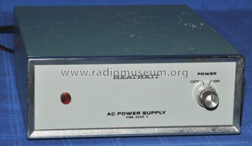 AC Power Supply HWA-2036-3; Heathkit Brand, (ID = 799711) Power-S
