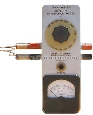 Antenna Impedance Meter AM-1; Heathkit Brand, (ID = 158855) Equipment