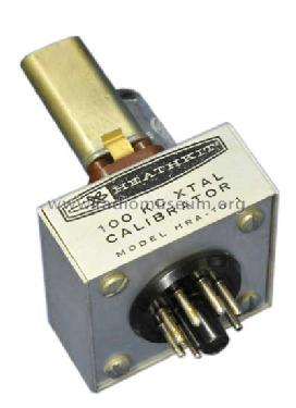 Crystal Calibrator HRA-10-1; Heathkit Brand, (ID = 781717) mod-past25