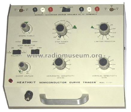 Curve Tracer IT-1121 Equipment Heathkit nd, Heath Co.; Be