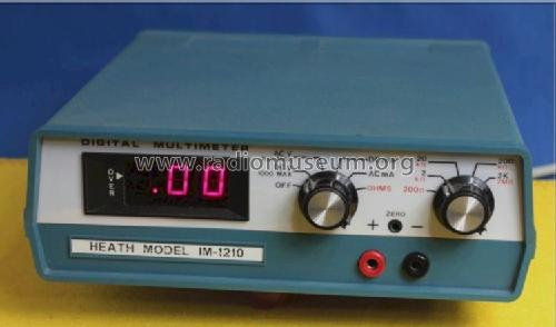 Digital Multimeter IM-1210; Heathkit Brand, (ID = 1573760) Equipment