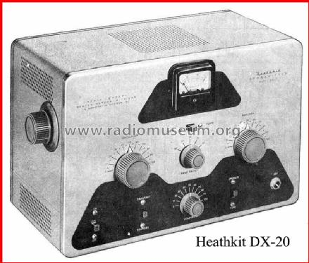 DX-20; Heathkit Brand, (ID = 126006) Amateur-T