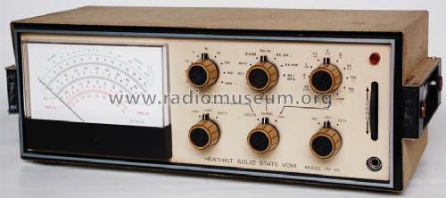 Vintage heathkit solid state vom volt/ohm meter model im-25 imw25.
