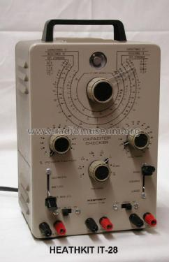 Capacitor-Tester IT-28; Heathkit Brand, (ID = 98559) Equipment