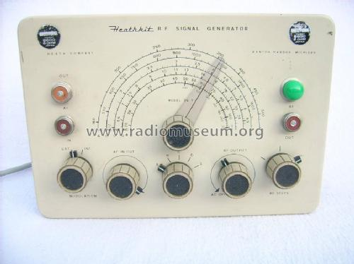 Heathkit Signal Generator : Rf signal generator sg equipment heathkit brand heath co