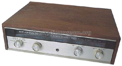 stereo amplifier aa 14 120 volt ampl mixer heathkit brand. Black Bedroom Furniture Sets. Home Design Ideas