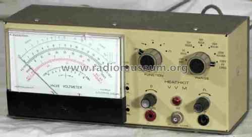 Vacuum Tube Voltmeter IM-28; Heathkit Brand, (ID = 588473) Equipment