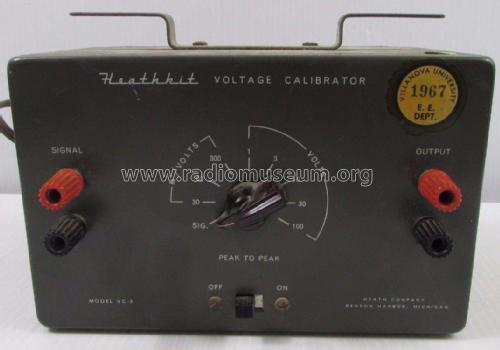Voltage Calibrator VC-3; Heathkit Brand, (ID = 1937314) Equipment
