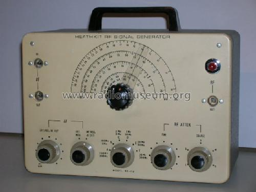 Heathkit Signal Generator : Signal generator rf u equipment heathkit uk by daystrom bu