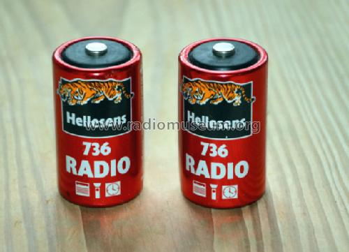 Radio Battery 736; Hellesens Enke & V. (ID = 1518317) Power-S