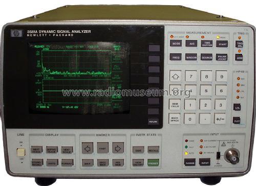 Hp / agilent 03561-90010 3561a dynamic signal analyzer service.
