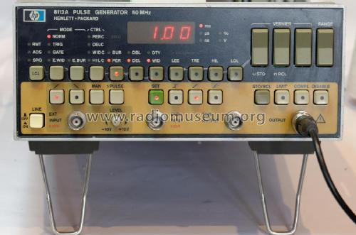 Pulse Generator 8112A; Hewlett-Packard, HP; (ID = 2288973) Equipment