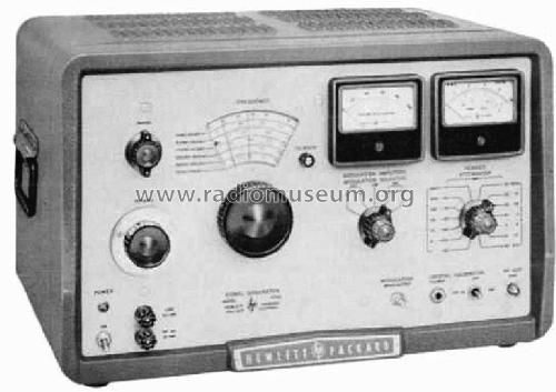 Signalgenerator 606a Has Only Tubes Equipment Hewlett Packar