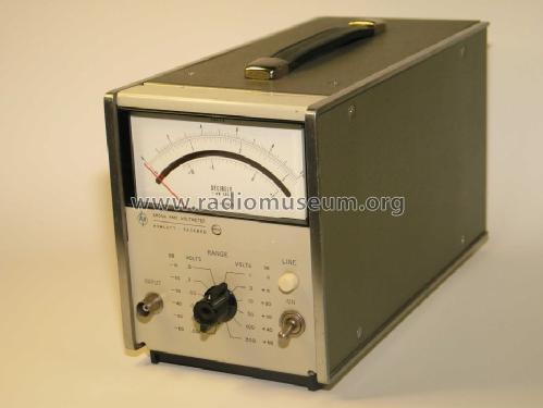 True Rms Voltmeter True Rms-voltmeter 3400a