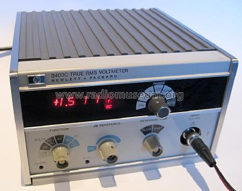 True Rms Voltmeter True Rms Voltmeter 3403c
