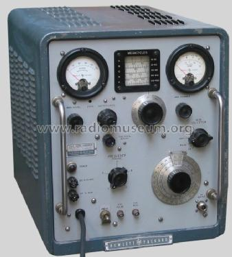 Vhf Signal Generator 608c Equipment Hewlett Packard Hp
