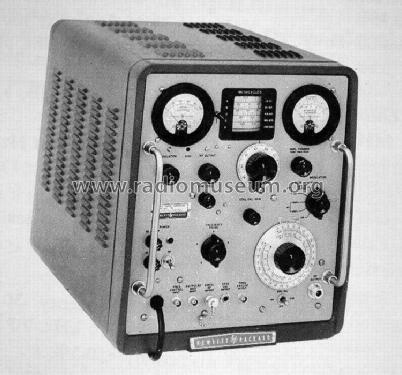 VHF Signal-Generator 608E; Hewlett-Packard, HP; (ID = 434401) Equipment